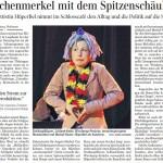 Das Aschenmerkel mit dem Spitzenschäuble - Schwäbsche Zeitung 30.4.2014